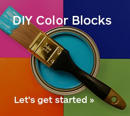 color blocking promo
