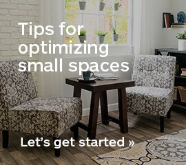 Charmant How To Small Spaces